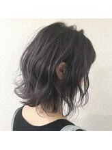 グラフィー(graphy)モノトーンラベンダー ツヤ髪