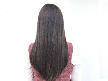 コッチ(kocchi.)の写真/[御器所/荒畑/桜山]とことんダメージレスな髪質改善カラー+オーダーメイドトリートメントでうる艶美髪に!