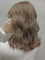 ソース ヘア アトリエ 京橋(Source hair atelier)【SOURCE】ミルクティーベージュ