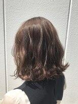 ポッシュ 原宿店(HAIR&MAKE POSH)ラベンダーハイライトブラウンカラー