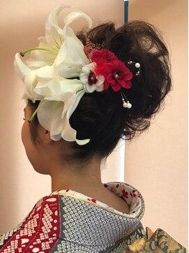 ヘアモーヴチャンプス 新松戸本店(HAIR MOVE champ's)【チャンプス】着付けヘアセット『和装スタイル』