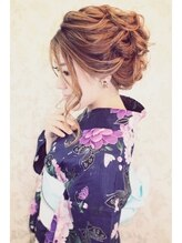 ヘアセットサロン イリス(IRIS)★IRIS★大人きれい浴衣ルーズスタイル