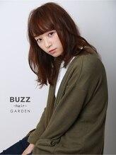 バズ ヘアー ガーデン(BUZZ hair GARDEN)はねてもだいじょぶなセミディ