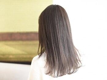 ヘアサロン ケッテ(hair salon kette)の写真/【ファイバープレックス縮毛矯正+カット¥11800】髪質によって使うべきBestな薬剤は違うんです!
