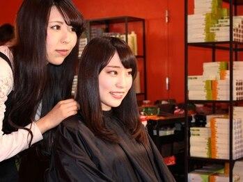 髪染本舗クルール(COULEUR)の写真/☆こだわりのカラー剤&トリートメント使用のヘアカラー専門店でマイナス5歳のエイジレス美髪へ☆