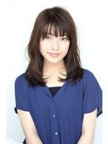 ヘアーメイク リアン 新田辺店(Hair Make REAN)◆REAN 京田辺/新田辺◆ラフさで決めるセミロングスタイル