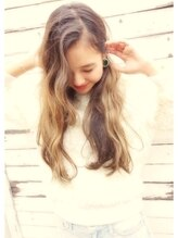 メロウ MELLOW【外国人風3Dカラー】3Dブリーチハイライトカラー☆