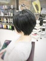 クール ヘアー ギャラリー 神明町店(COOL Hair gallery)美シルエット大人ショート