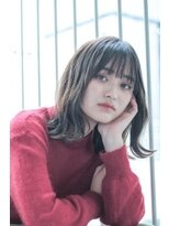 オーブ ヘアー ニア 御茶ノ水店(AUBE HAIR nia)【AUBE HAIR】大人ミディアム×透明感カラー