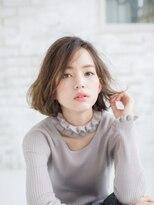 ペグ バイ アディクヘア 町田駅前店(Peg by adic.hair)色っぽユルボブ