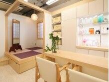 ブロッサム ヘアデザイン(blossom)の雰囲気(和室も完備。お着替えもOK♪)