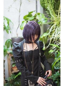 サイ(sai)【sai】purple bob