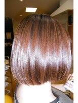 デザインヘアーピアジェ 八木店(DESIGN HAIR PIAGET)キララカラー+カラーケアTRで秋向けボブスタイル