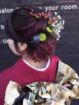 クブヘアー(kubu hair)《Kubuhair》生花セット