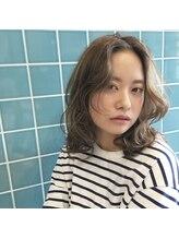 エービート(ABTO)【ABTO】☆ふわくしゅ透け感外国人風ベージュ☆