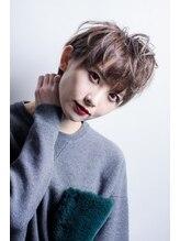 ミエルヘアー 渋谷店(miel hair)【miel hair渋谷】ミルクティーグレージュ