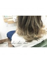 ヘアーガーデン シュシュ(hair garden chou chou)【海外セレブ風】グレージュカラー