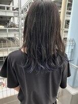 アッシュグレージュ_裾カラー【ららぽーと沼津】