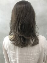 サン 渋谷(SUN)《SUN竹ヶ鼻》 美髪ブランジュイルミナヘルシーレイヤーミディ