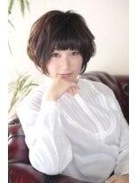 ギフト ヘアー サロン(gift hair salon)前下がり・エアリ-ショートボブスタイル(熊本・通町筋・上通り)