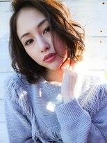 ホットリップ(Hot Lip)Hot Lip☆大人綺麗 ダーク透明感カラー ナチュラルウェーブ
