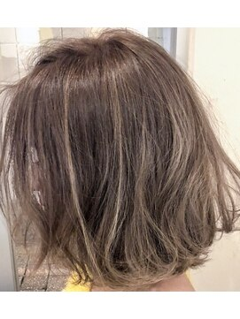 ウィッシュ ヘアー(Wish Hair)【WishHair】ハイライトグレージュ