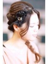 結婚式の大人モードアップby BACKSTAGE画像
