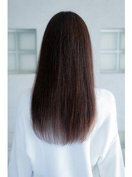 リヒトヘアー 守山店(Licht hair)の写真/【全メニュー選べるトリートメント付◎】厳選トリートメントで徹底補修し、芯から潤う髪本来の美髪に♪