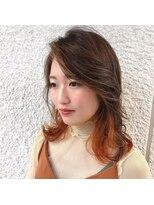 オブヘアー 鷺沼店(Of HAIR)#アクセサリーカラーミディアム