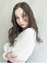 アルバムギンザ(ALBUM GINZA)ナチュラルカール_ホワイトアッシュショートパーマ_68257