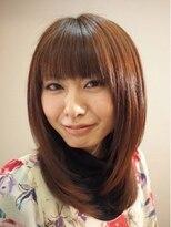 ヘアーシュエット(Hair Chouette)ナチュラルストレート