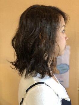 ヘアーズ フェミニン 中山店(Hair's Feminine)の写真/従来のパーマでは出来なかった洗練された巻き髪スタイルが実現♪ふわっと楽巻きスタイルに◎