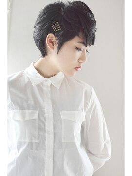 モッズ ヘア 京都店(mod's hair)【COLETTE 2013-14 A/W】黒髪ショート