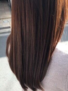 ノル(nol hair&spa)の写真/仕上がりを選べるストレート◆《なりたいイメージ×毛髪診断》だから叶う、憧れのふんわり柔らかなスタイル
