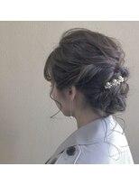 ヘアー コパイン(HAIR COPAIN)[熊本/中央区/上通り/並木坂] 結婚式お呼ばれヘア