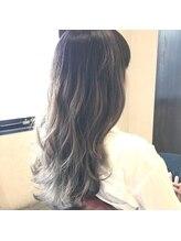 サンゴウーロク フォーメイクアップウィズヘアー(356 for make up with hair)外国人風グラデーション×バイオレットアッシュ