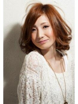 ナチュラル8 NATURAL8 ヘアースタジオ Hair studioの写真/エアウェーブで女子力UP!!ゆるふわウェーブで、きれ可愛い女性に!!