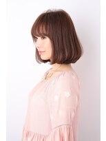 キュリオ 尾山台(curio)【curio尾山台】  モード3Dカラー × ミニマムボブ