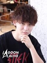 LAGOON ALIVE 亀田一磨 ☆ソフトツイストパーマ☆