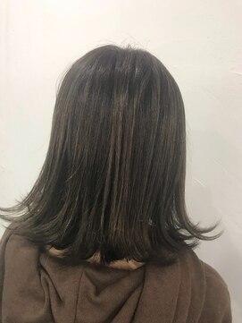 ヘアーアンドメイク ポッシュ 根岸店(HAIR&MAKE POSH)アッシュグレージュカラー