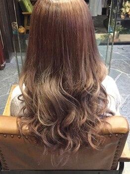 ヘアードレッサー カブ(HAIR DRESSER CUB)の写真/【取手市藤代南】カラーでぐっと印象チェンジ!透明感のある優しい色味で思わず触れたくなる美髪へ―♪