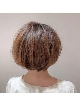 ネオヘアー 京成曳舟店(NEO Hair)ふんわりフェミニンボブ【京成曳舟】