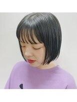 アッド バイ ケーツー(add by K-two)シースルーバング×ミニボブ/心斎橋&難波&堀江&新町