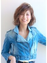 ラフィネ(raffine)【raffine】伸ばしかけの前髪でも、かきあげミディ☆(土屋健司)