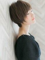 【ROMA】大人かわいい ひし形シルエット サイド 小顔ショート