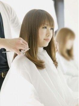 クロノスロウリー(chronoslowly)の写真/《髪がキレイだと心も弾む》目指せ美髪!《chronoslowly》でつくる輝くツヤ髪☆美意識の高い女性をサポート