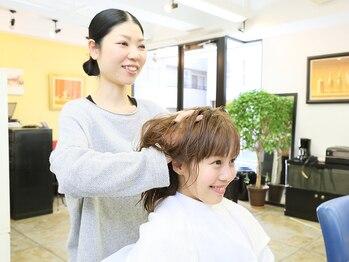 ページボーイ美容室の写真/【神楽坂駅1番出口徒歩4分】炭酸ヘッドスパで疲れた頭皮を癒して♪頭皮環境を改善して髪のハリコシUP☆
