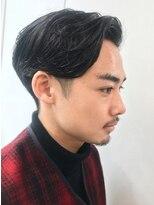 バイフィフス 原宿/表参道(by fifth)アップバング/七三/ツーブロック/かりあげ/かき上げヘア3 ○