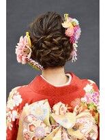 ベル(BELL)成人式 髪型/メイク/振袖/着付け【BELL桜新町/用賀】