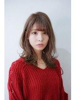 ウェンザヘアー(wen. THE HAIR)ゆるパーマ大人可愛い艶ベージュ☆